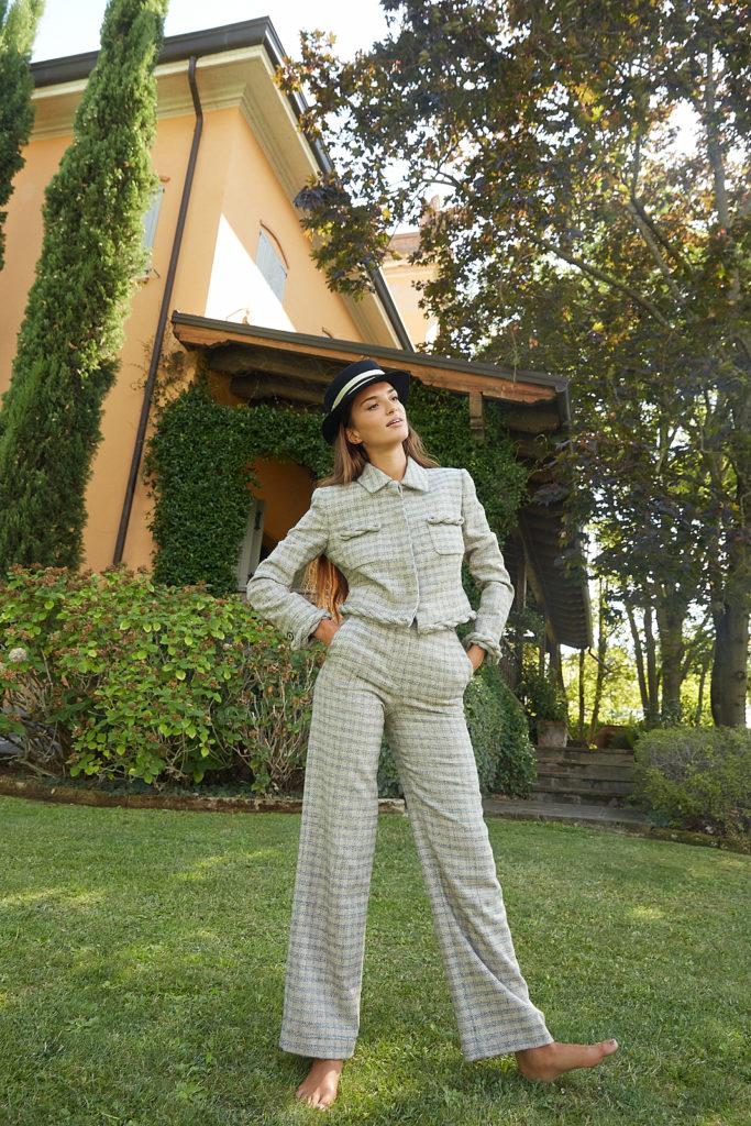 l'officiel italia - photographer Paolo Musa - model Gabrielle Caunesil Pozzoli - styling Fabrizio Finizza