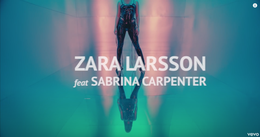 Zara Larsson - music video - wow - hair stylist Federico Ghezzi