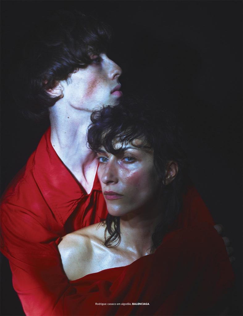 Vogue Portugal - Photographer Emmanuel Giraud - Stylist Larissa Marinho - Make Up Hugo Villard