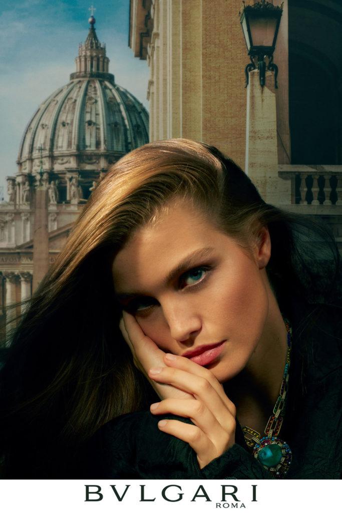 Bvlgari Roma : Travel Tales for Beauty Lovers - Photographer Dan Beleiu -Make Up Kate Mur - manicure Carlotta Saettone