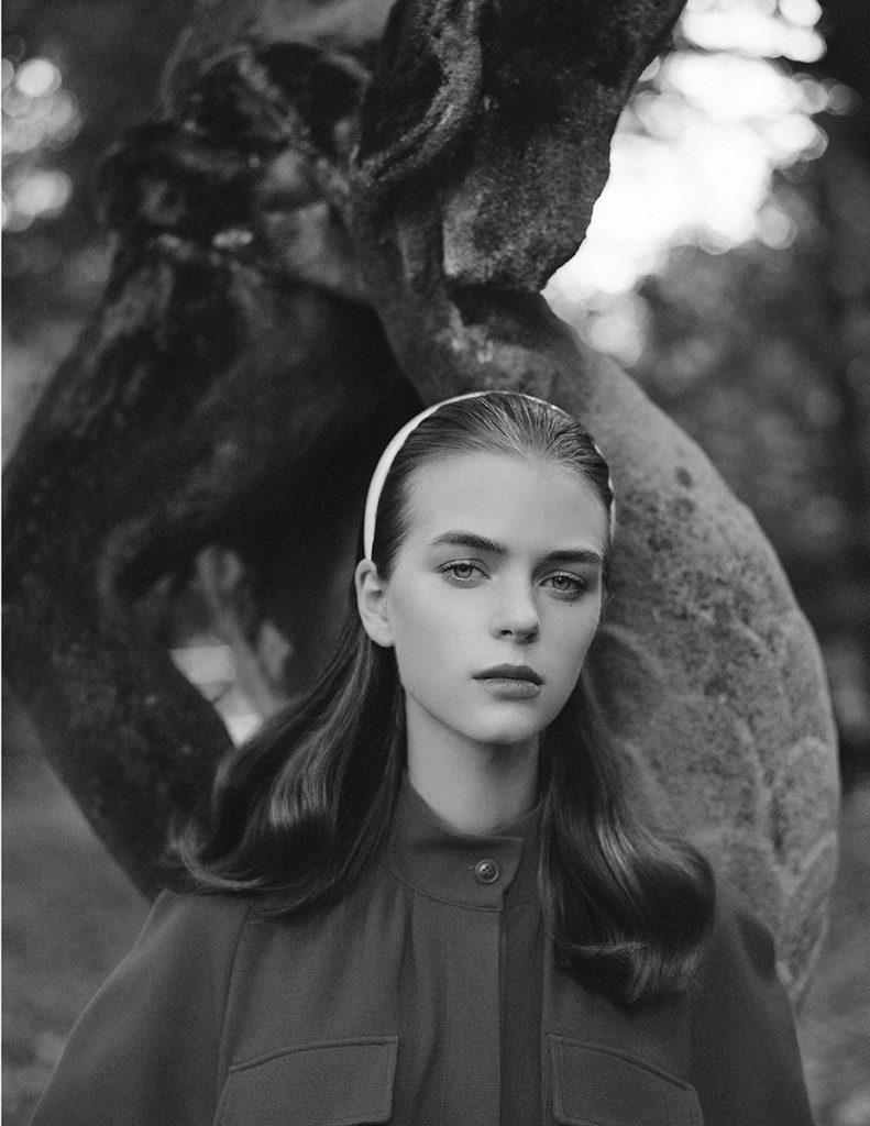 Vestal magazine - photographer giorgio Codazzi - styling Nadia Bonalumi - make-up Augusto Picerni