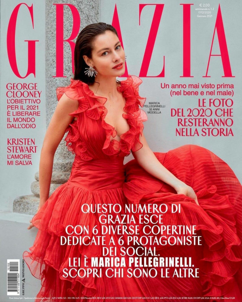 Grazia - magazine - photographer Roberto Patella - styling Selin Bursalioglu - make-up Sissy Belloglio - Marica Pellegrinelli