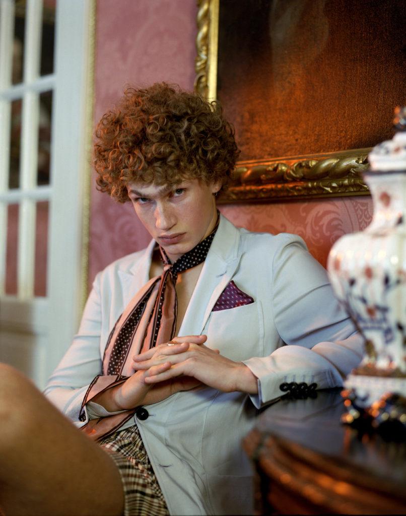 L'officiel u.s.a - photographer Roberto Patella - make-up Kassandra Frua