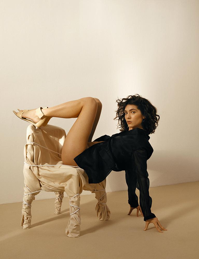 Vogue UA - Photographer Fleur Bult - Stylist Marzia Fossati - Make Up Augusto Picerni