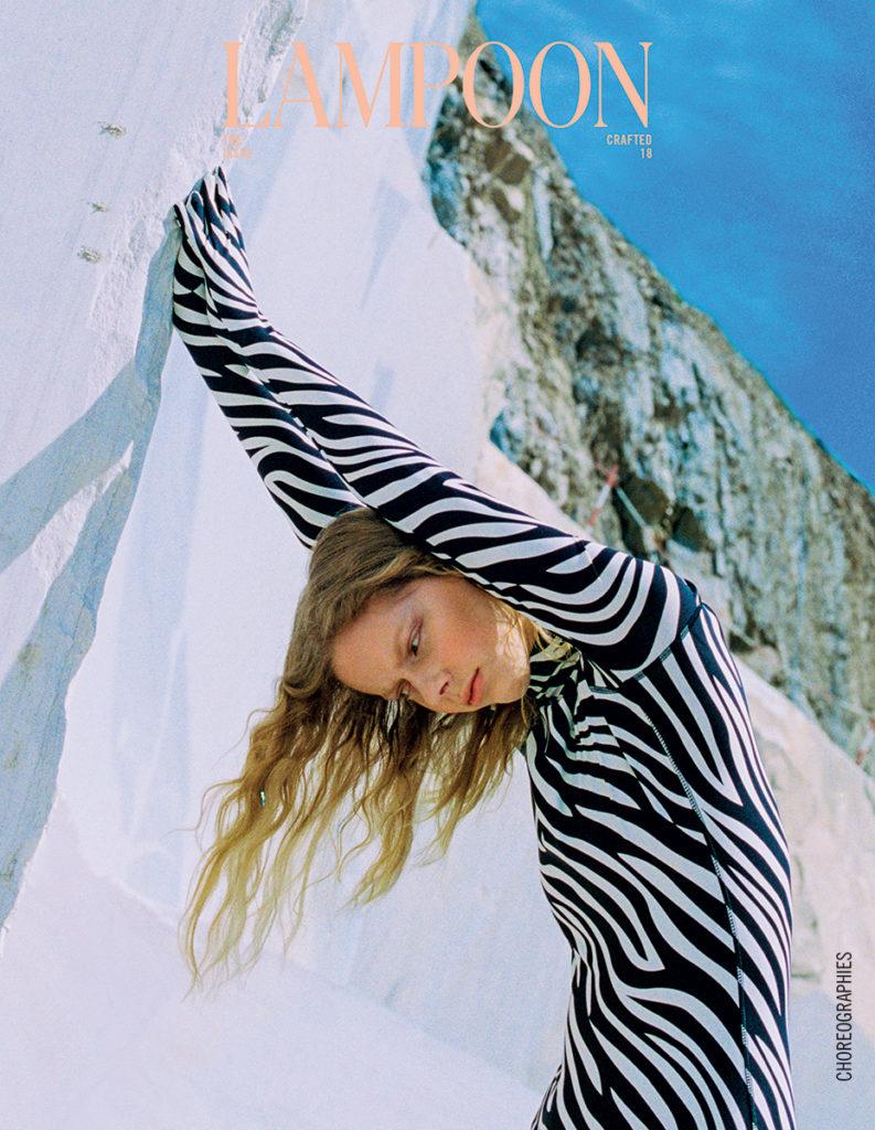 Lampoon magazine - photographer Sanja Marusic - make-up Kassandra Frua - hair Chiara Bussei