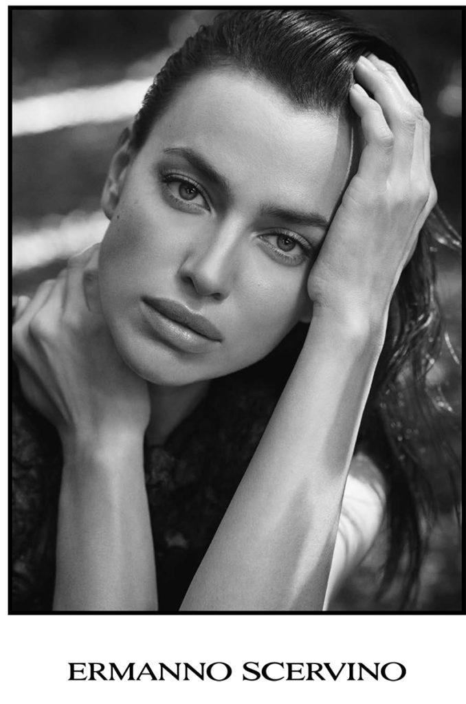 ermanno scervino - irina shayk - photographer Luigi and iango - styling Sissy Vian - make-up artist Kassandra Frua