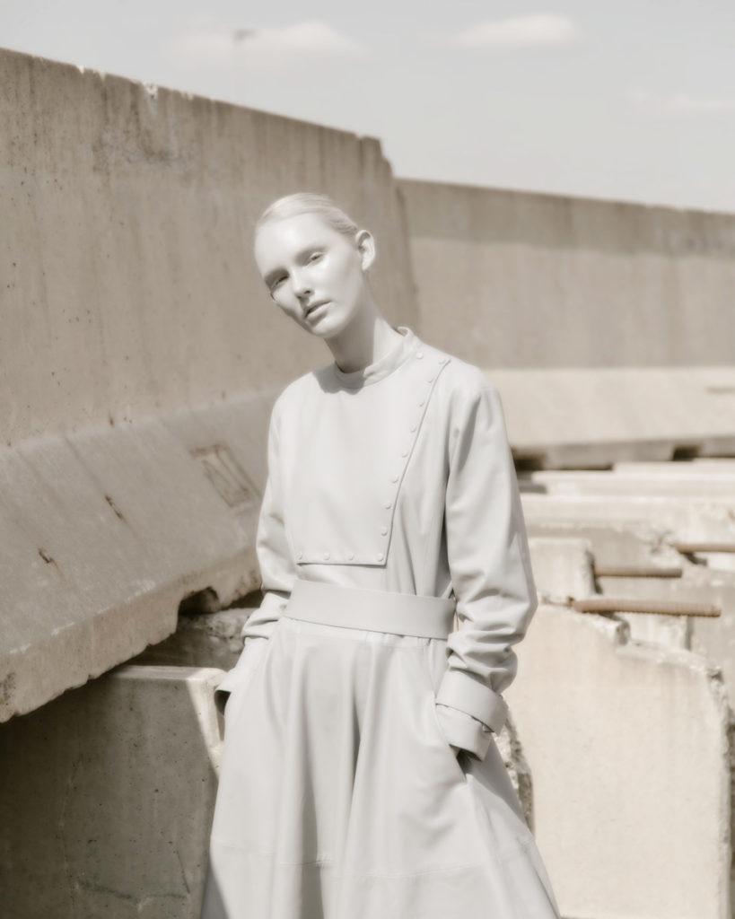Schon magazine - photographer Gautier Pellegrin - styling Luca Termine - make-up Kassandra Frua