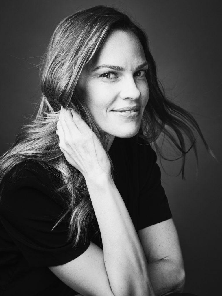 Hilary Swank - Photographer Carlo Furgeri Gilbert - Make Up Kassandra Frua De Angeli