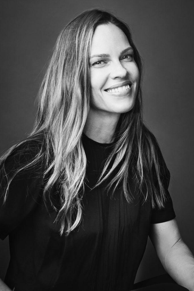 Hilary Swank - Photo by Carlo Furgeri Gilbert - make Up Kassandra Frua De Angeli