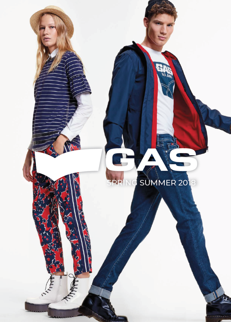 Gas jeans - advertising - grooming Kassandra Frua De Angeli