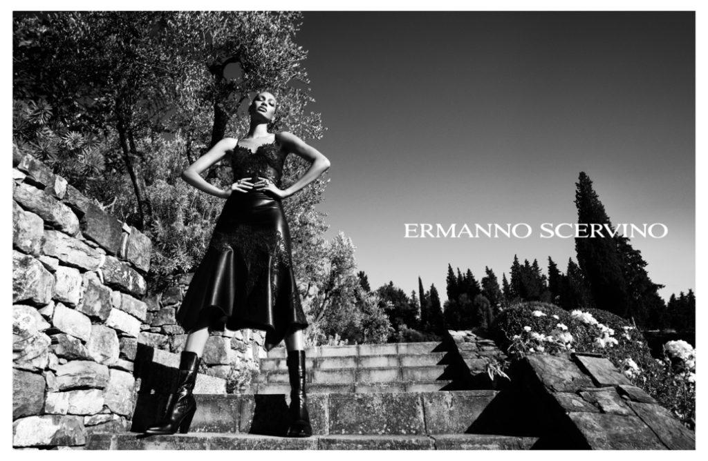 Ermanno Scervino - Joan Smalls - photographer Luigi and Iango - styling Sissy Vian - make-up artist Kassandra Frua