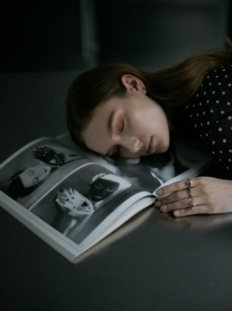 Marie claire ukraine - photographer Gautier Pellegrin - make-up Kassandra Frua