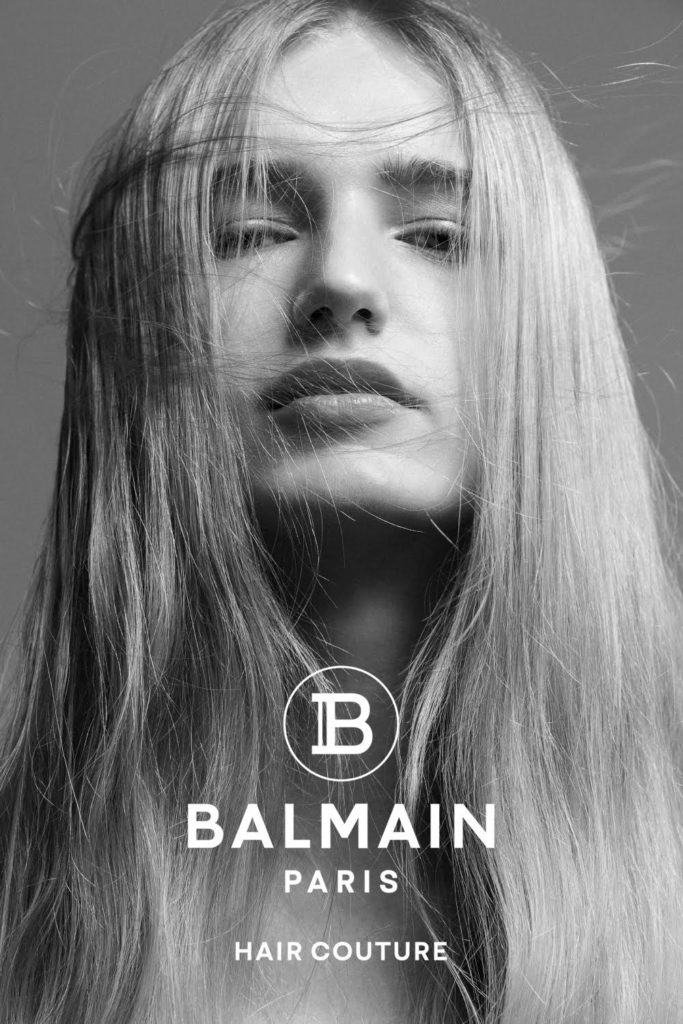 Balmain hair couture hair Massimo Di Stefano adv portfolio