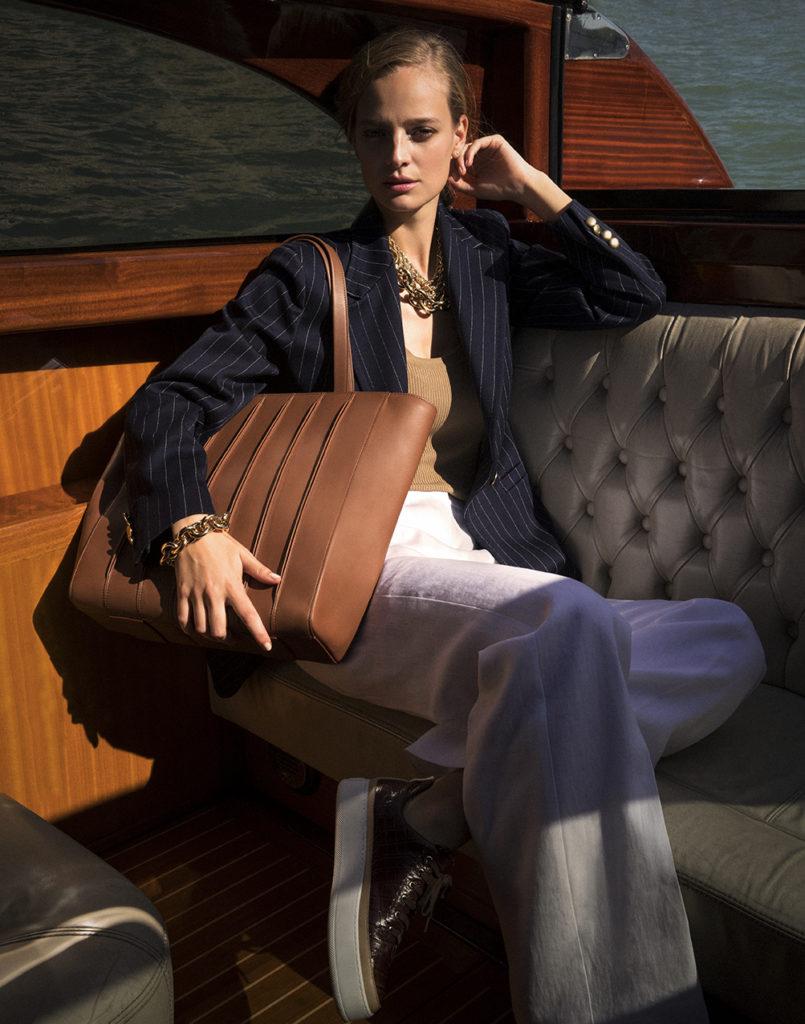 Max Mara Magazine - Photographer Andrea Gandini - Stylist Sabino Pantone - Hair & Make Up Roman Gasser