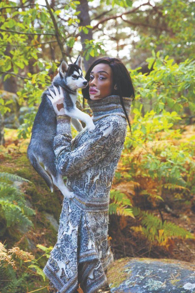 Lula Magazine - model Winnie Harlow - photographer Damon Heath - styling Audrey Taillee - make-up Giulio Panciera - WM-Artist Management - Milano
