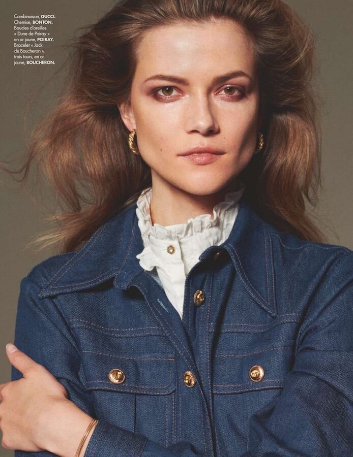 Elle france - photographer Philip Gay - styling Jeanne Le Bault - make-up Giulio Panciera - WM-Artist Management