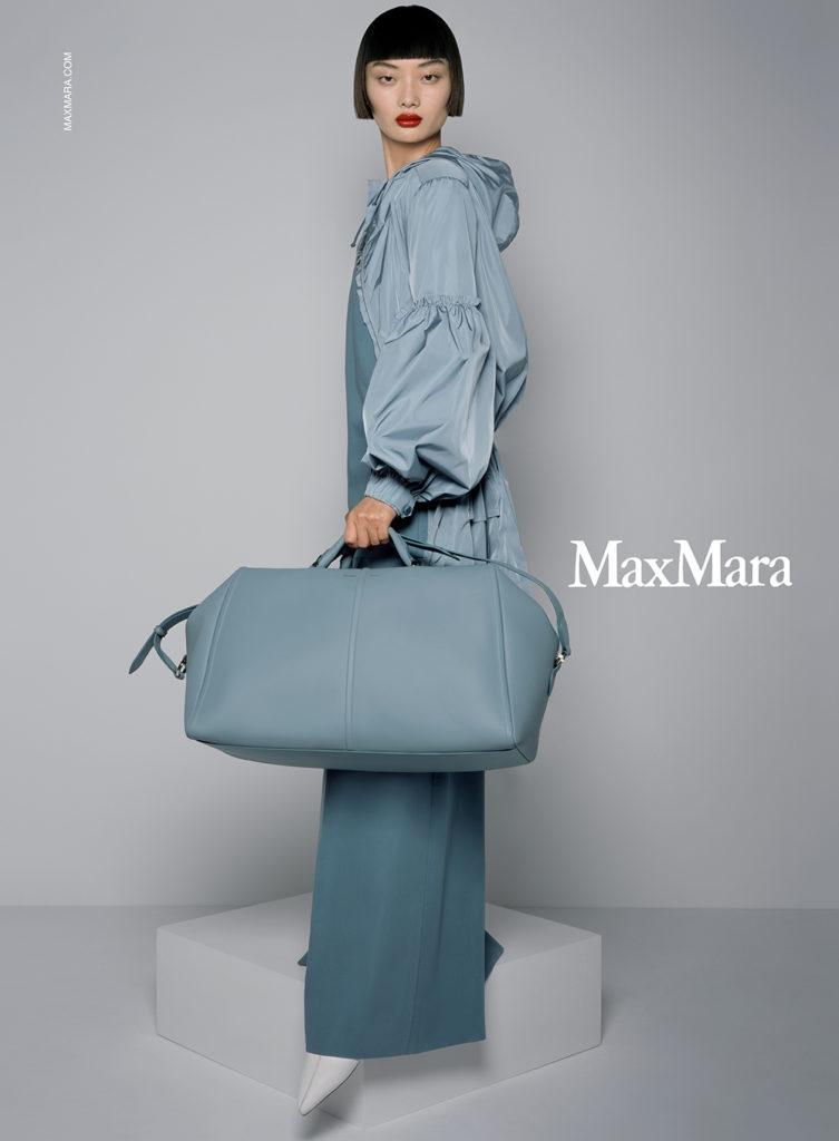 Max Mara - ss21 - Photographer Brigitte Niedermair - Stylist Carine Roitfeld - Make Up Artist Hugo Villard