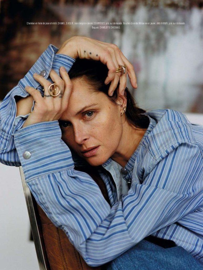 L'express Styles - phptographer Alice Rosati - model Tasha Tilberg - styling Mika Mizutani - make-up Giulio Panciera - WM-Artist Management