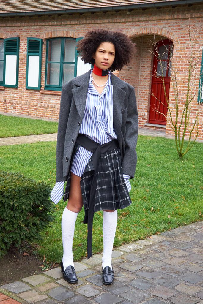 Meryll rogge - fw 21 - photographer Sloan Laurits - styling Dan Sablon - WM-Artist Management - W-MManagement