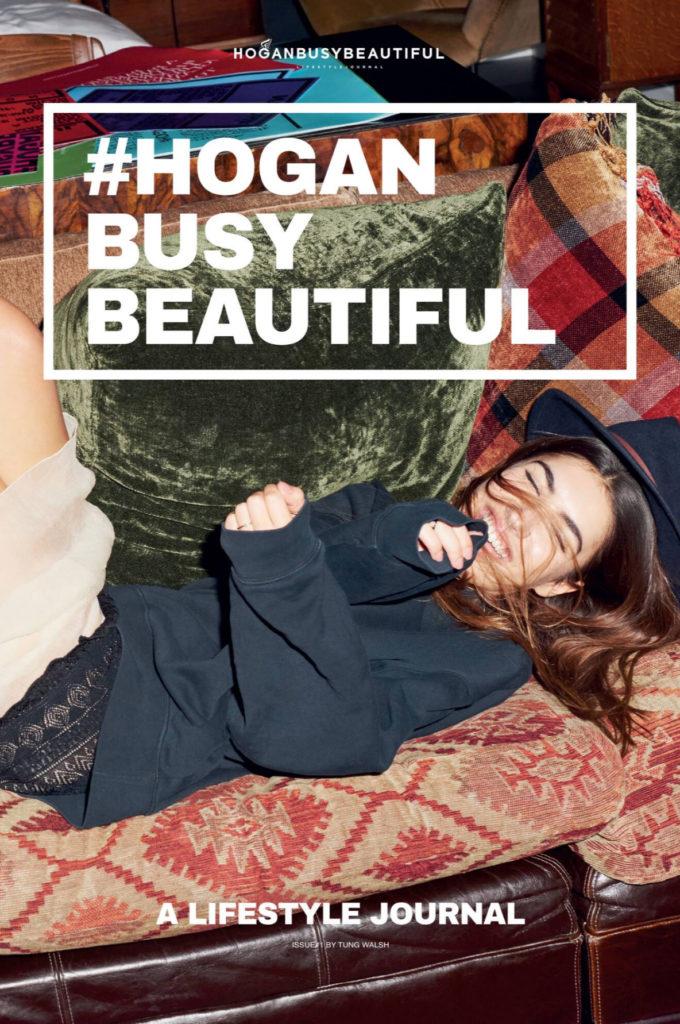 Hogan - photographer Tung Walsh - styling Vanessa Cocchiaro - make-up artist Giulio Panciera - WM-Artist Management