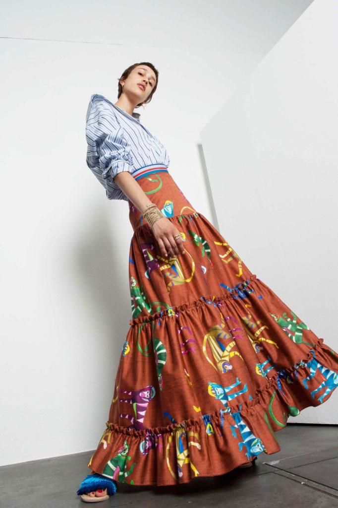 Stella jean - resort 18 - styling Maela Leporati WM-Artist Management - W-MManagement - Milano