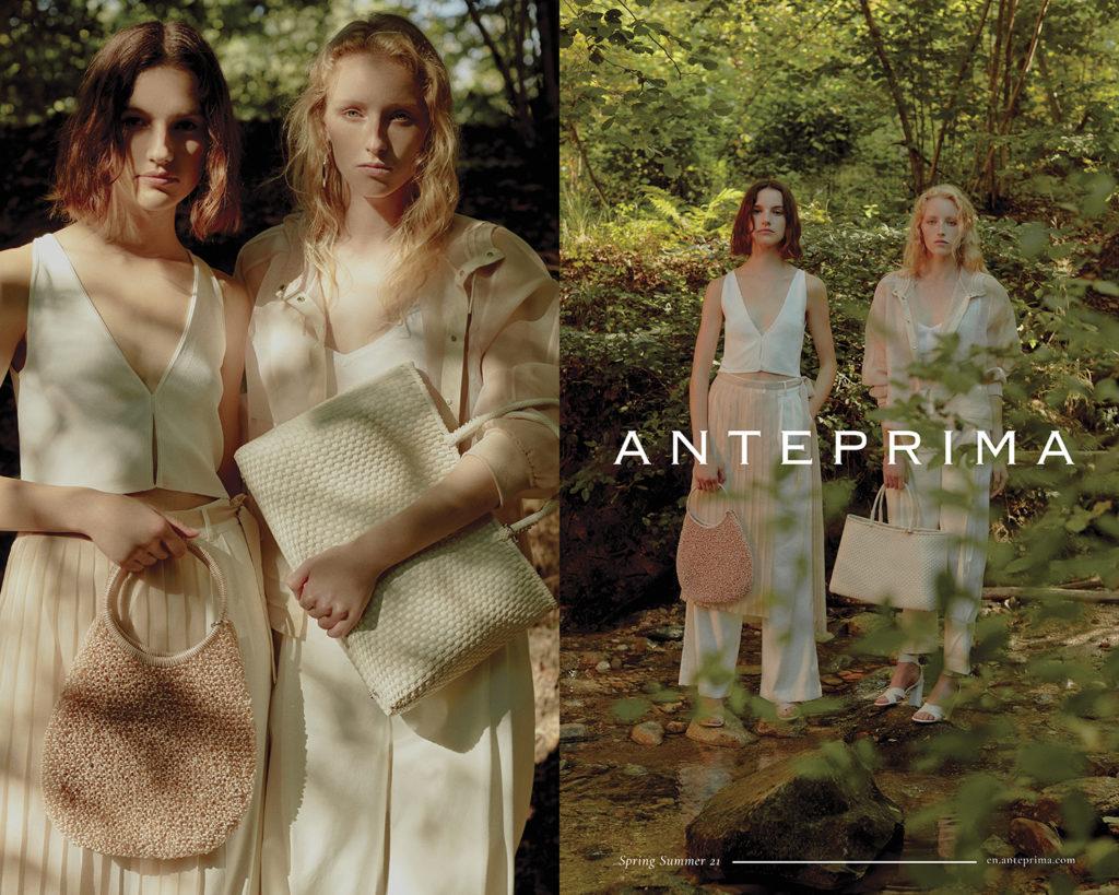 Anteprima - ss21 - photographer Fabrizio Martinelli - styling Sabrina Mellace - hair - make-up artist Kassandra Frua - WM-Artist Management