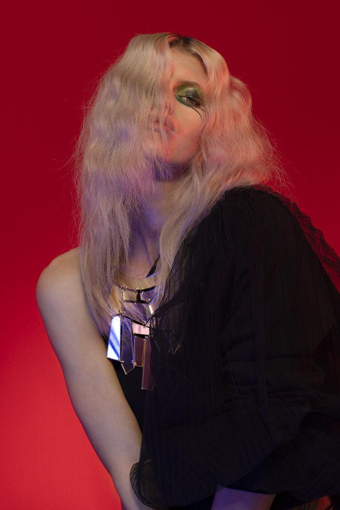 Dscene - photographer Matteo Bertolio - styling Emily Lee - hair Francesco Avolio - make-up Augusto Picerni - WM-Artist Management