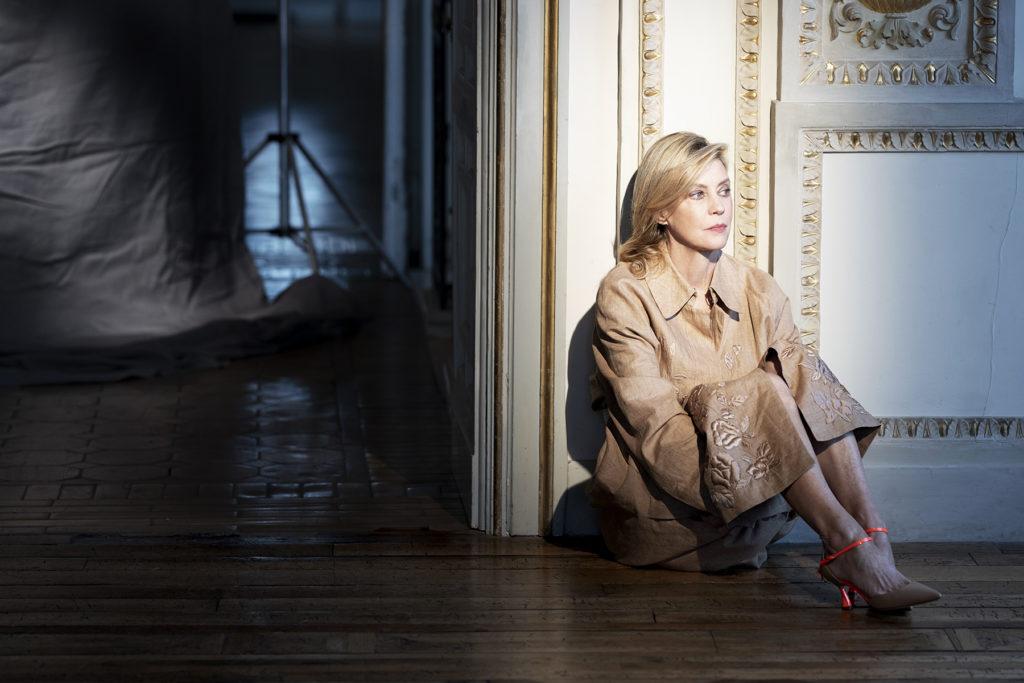 L'officiel Italia - Margherita Buy - Giulia Michelini - photographer Gianmarco Chieregato - styling Giulio Martinelli - WM-Artist Management