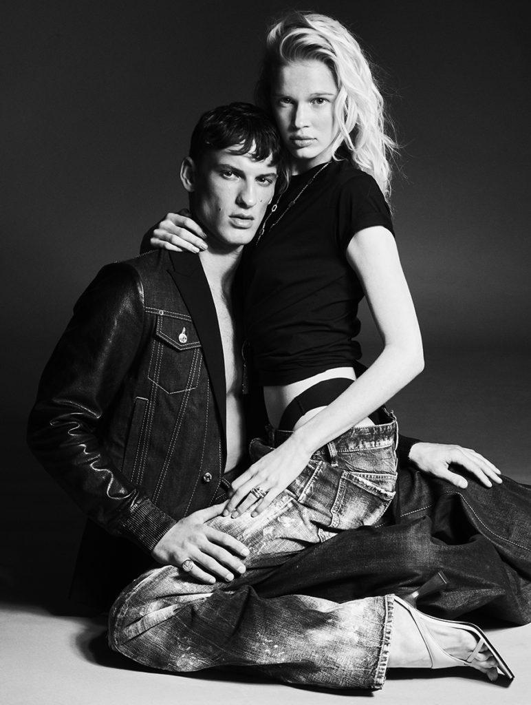 L'Officiel Italia - Photographer Alberto Tandoi - Stylist Giulio Martinelli - Hair styling Chiara Bussei - Make Up Riccardo Morandin