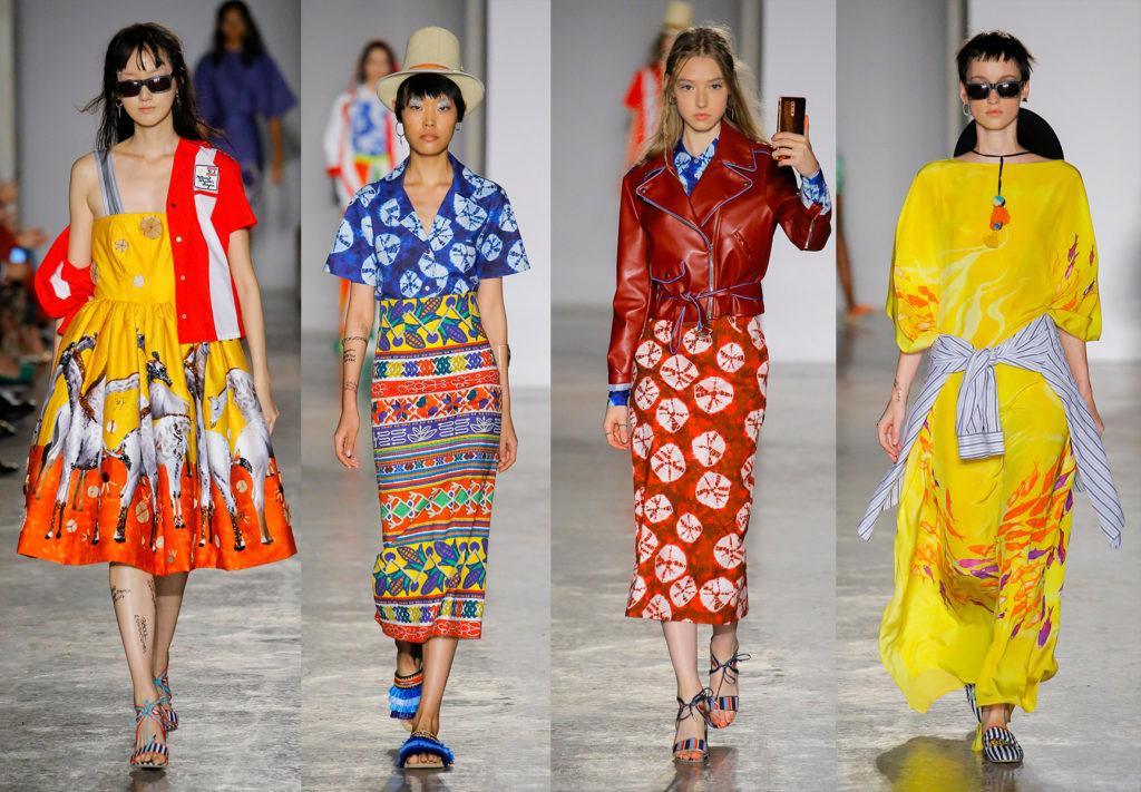 Stella Jean - ss18 - fashion show - styling Maela Leporati - WM-Artist Management - W-MManagement - Milano