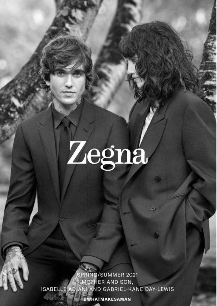 Zegna - ss21 - photographer Brigitte Lacombe - styling Julie Ragolia - make-up Giulio Panciera - WM-Artist Management