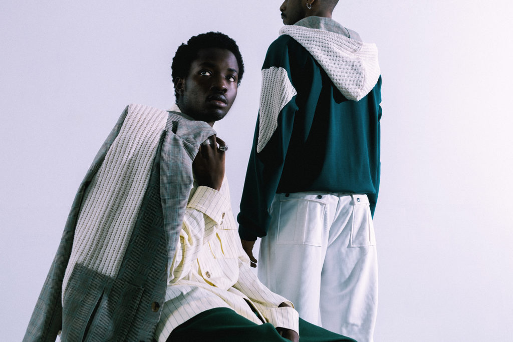 Soji Solarin - lookbook ss21 - Photographer Matias Alfonzo - Styling Lawrie Glorie