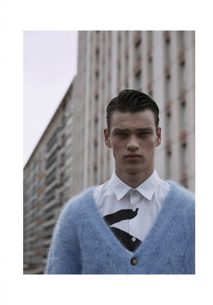 L'officiel hommes - photographer Lukasz Pukowiec - styling Olga Yanul - make-up Giulio Panciera - WM-Artist Management