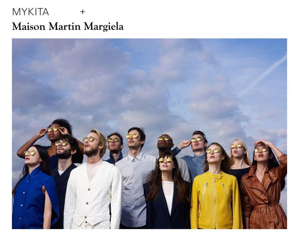 Mykita for maison Margiela - make-artist Giulio Panciera - WM-Artist Management