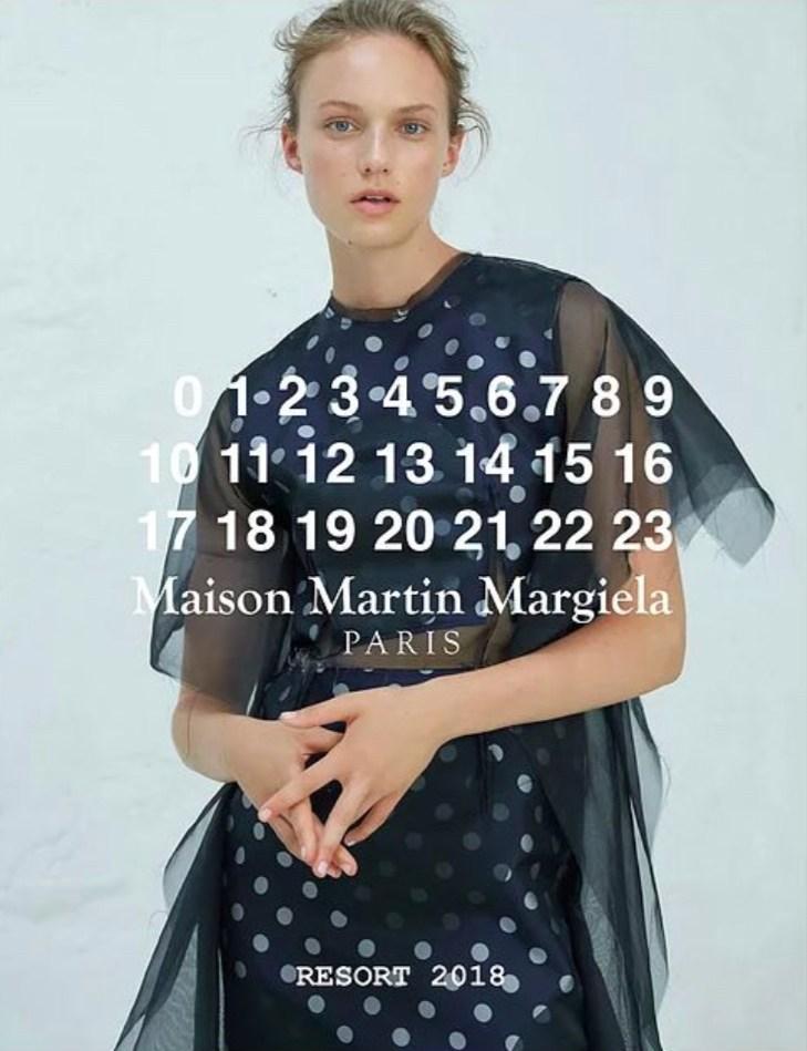 Maison Margiela - Resort - photographer Jason Acton - make-up Giulio Panciera - WM-Artist Management