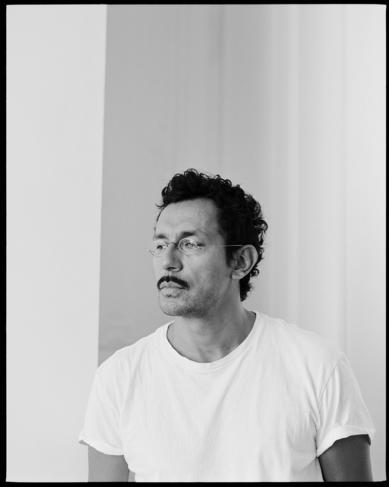Haider Ackermann - Gq style - photographer Luc Coiffait - make-up artist Giulio Panciera - WM-Artist Management