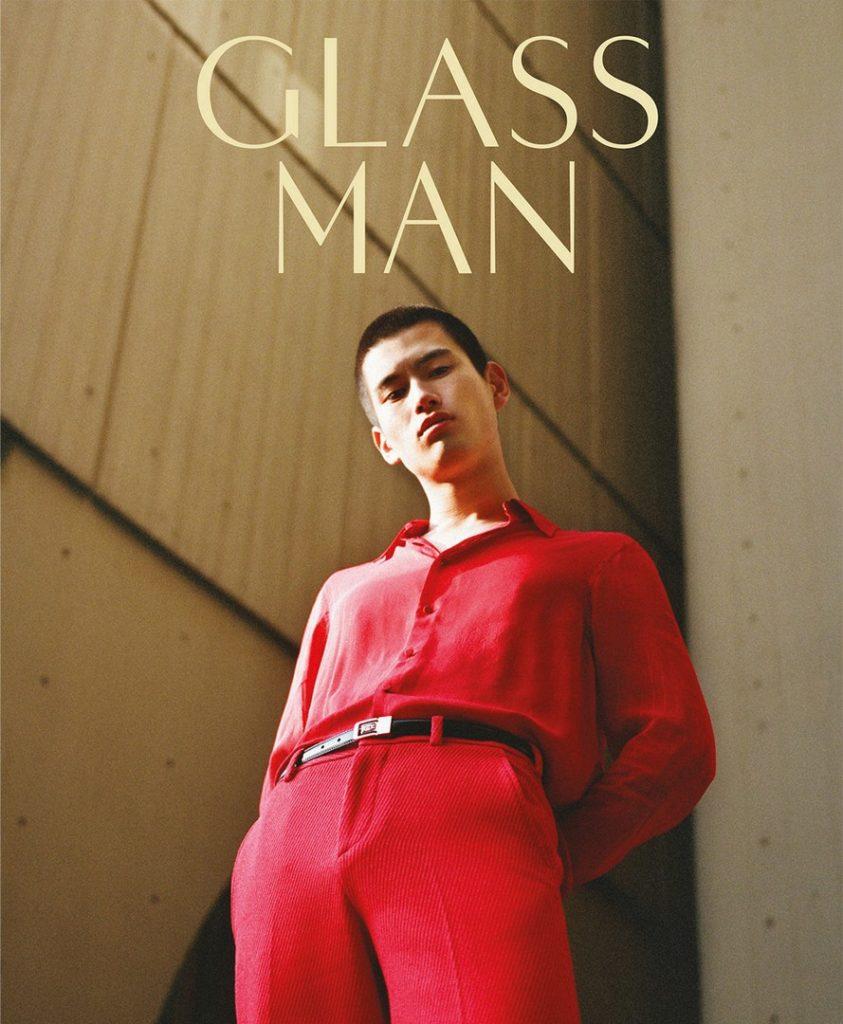 Glass man - photographer Olivia Malone - styling Christopher Campbell - make-up Giulio Panciera - WM-Artist Management