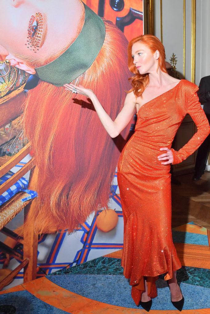 Mariacarla Boscono - Book of Dreams Vol.2 Launch and Cocktail - make-up artist Giulio Panciera - WM-Artist Management