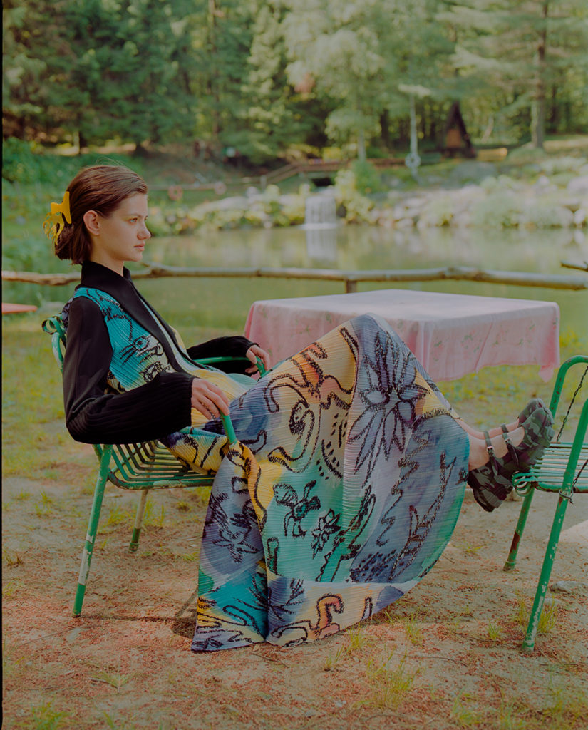 Vogue Italia - photographer Pasquale Ettorre - styling Maela Leporati - WM-Artist Management - W-MManagement