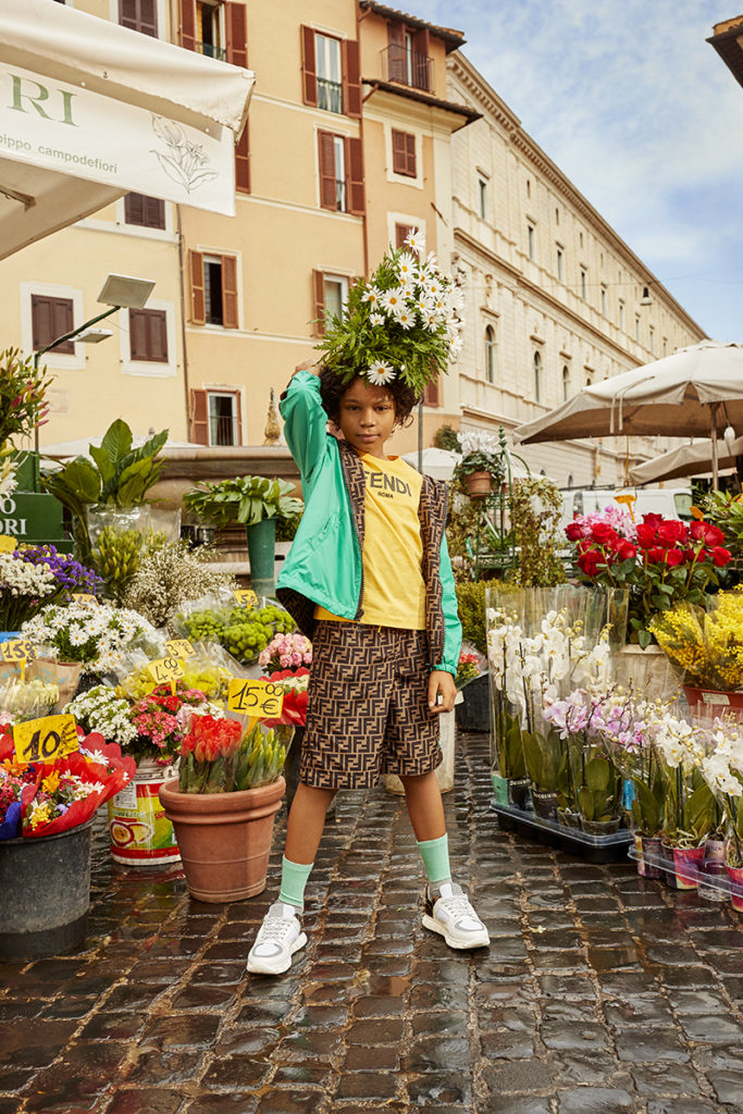 Mytheresa - Photographer Andy Massaccesi - Stylist Giulia Meterangelis - SS21 - Roma