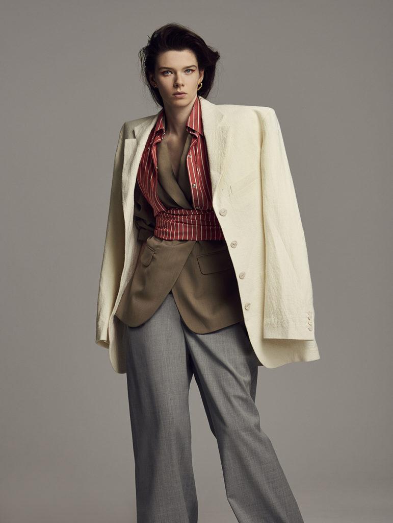 Elle uk - photographer Dima Hohlov - styling Georgia Medley - hair Federico Ghezzi - WM-Artist Management - Milano
