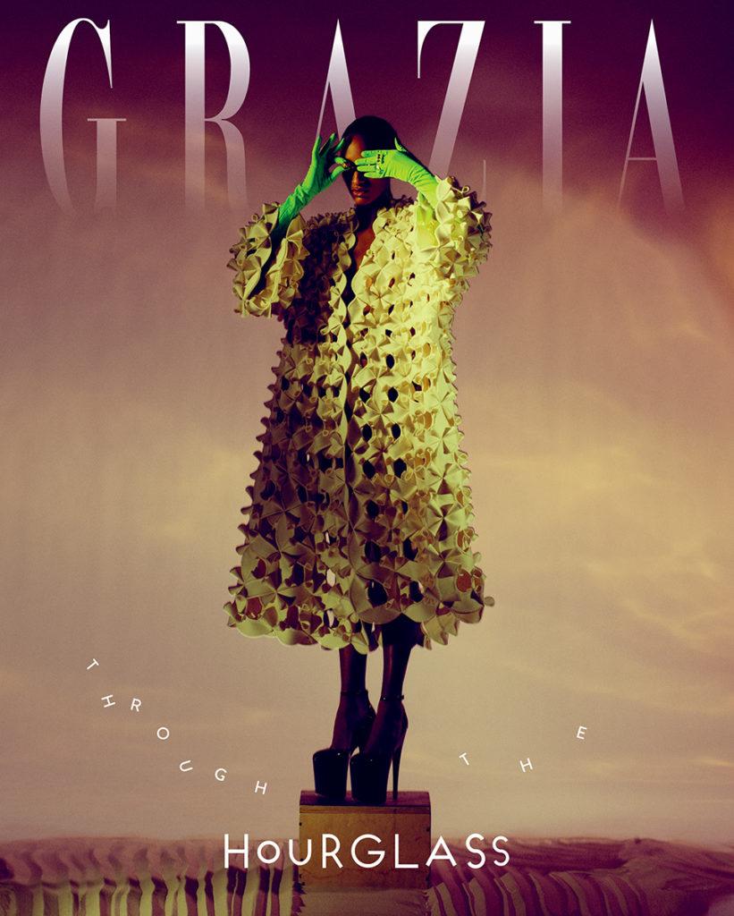 grazia international - magazine - photographer Paul Morel - styling Anna Castan - make-up Riccardo Morandin - WM-Artist Management