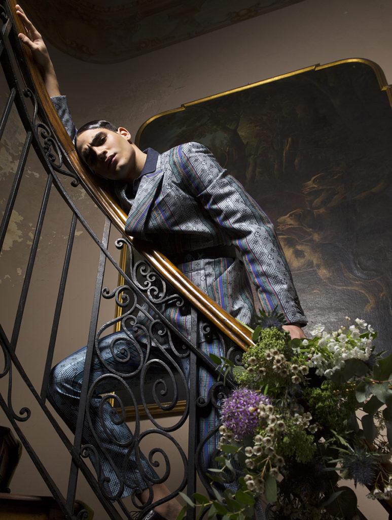 l'officiel hommes - photographer Saverio Cardia - styling Giorgio Andrea Branduardi - hair Francesco Avolio - make-up Riccardo Morandin - WM-Artist Management