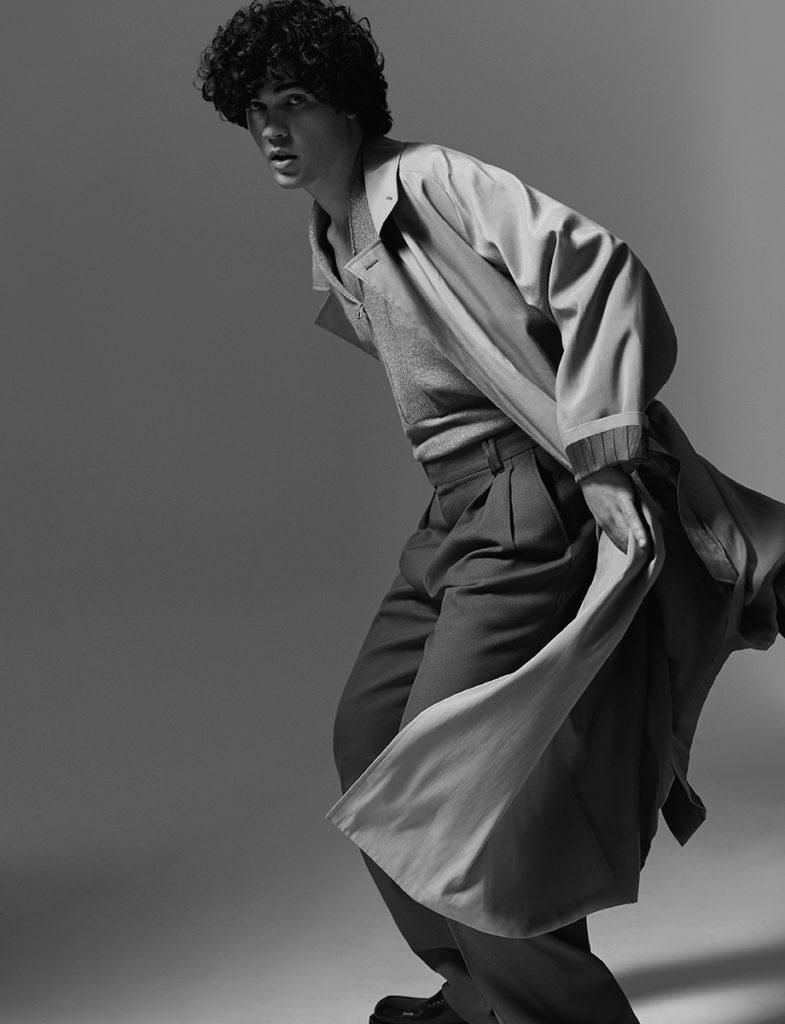 Giuseppe Spata - photographer Giorgio Codazzi - styling Angelica Pianarosa - hair Francesco Avolio - WM-Artist Management - Milano