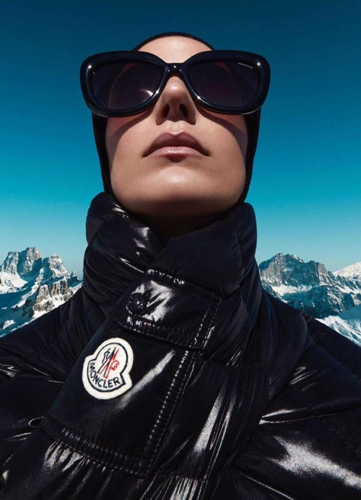 Moncler - photographer Julien Martinez Leclerc - make-up Kassandra Frua - WM-Artist Management - W-MManagement - Milano