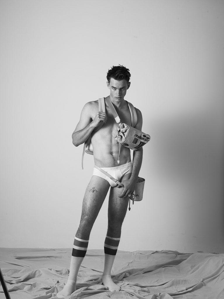 Man about town uk - magazine - photographer Leonardo Bornati - styling Andrea Colace - WM-Artist Management - W-MManagement