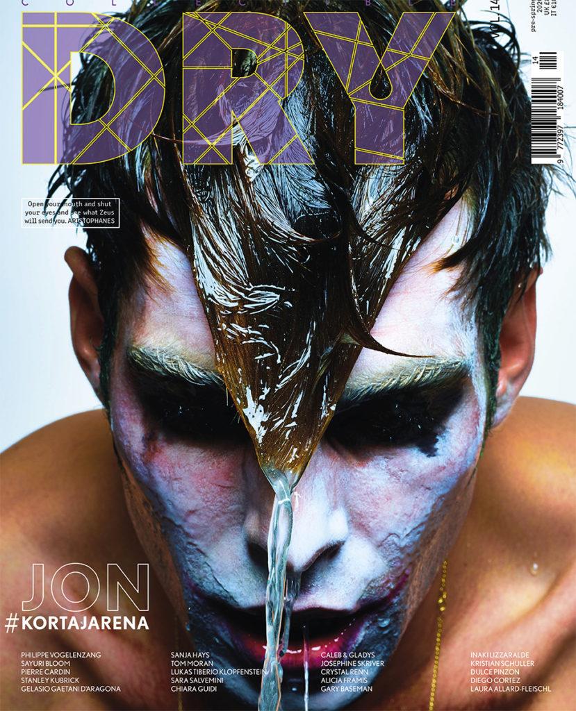 Dry magazine - Jon Kortajarena - photographer Philippe Vogelenzang - styling Andrea Colace - WM-Artist Management