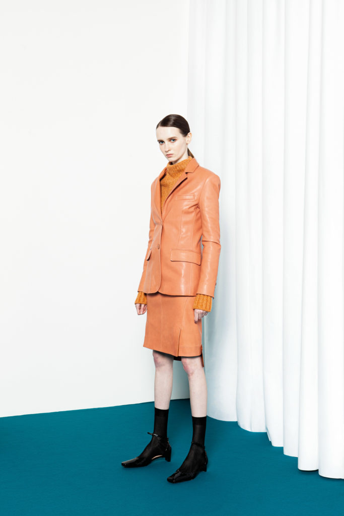 Drome - fw21- styling Emma Wyman - hair Daniel Manzini - make-up Karin Borromeo - WM-Artist Management - W-MManagement - Milano