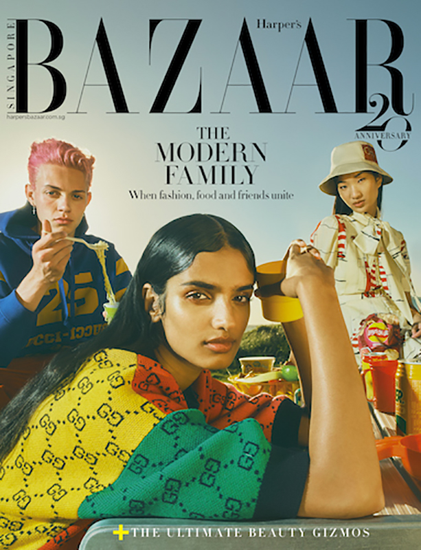 Harper's Bazaar Singapore - photographer Georges Antoni - styling Jana Pokorny -. hair Rory Rice - WM-Artist management - W-MManagement