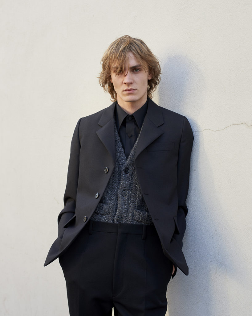 Prada - photographer Mattia Pasin - styling Letizia Allodi - WM-Artist Management - W-MManagement - Milano - agency